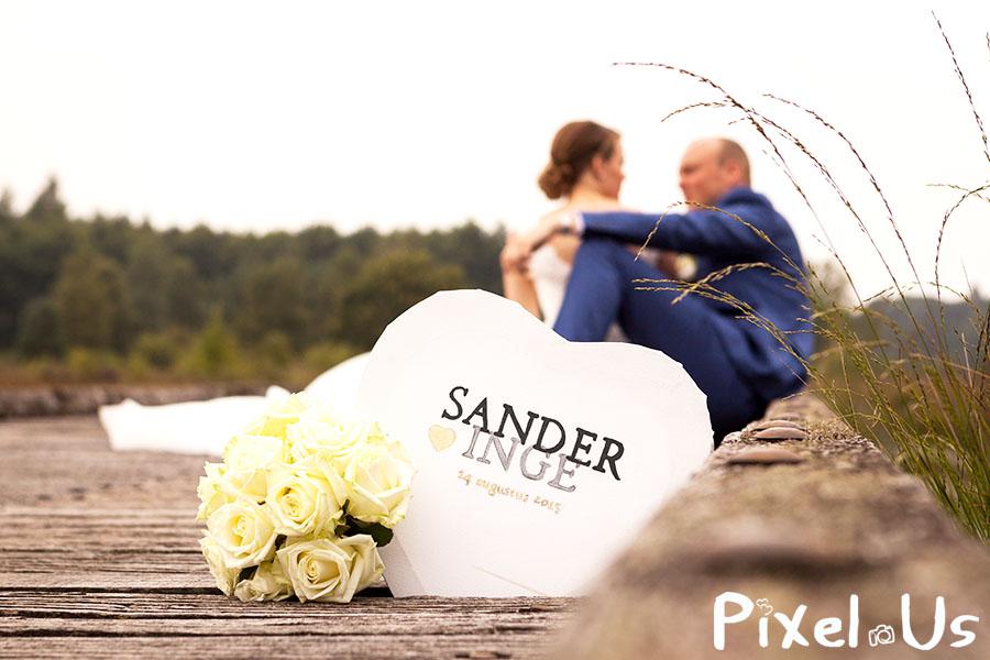 Bruiloft Sander & Inge