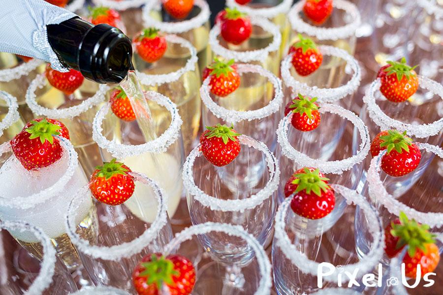trouwfotograaf champagne details