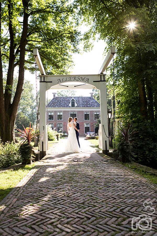 Bruidsfotograaf Groningen Allersmaborg