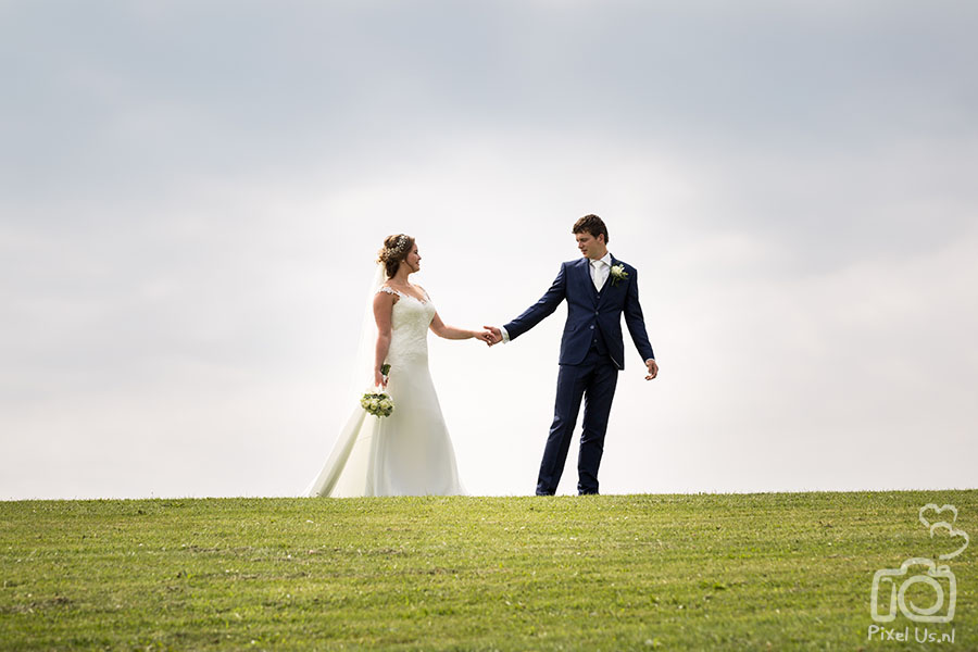 Bruiloft Marcel & Marjolein