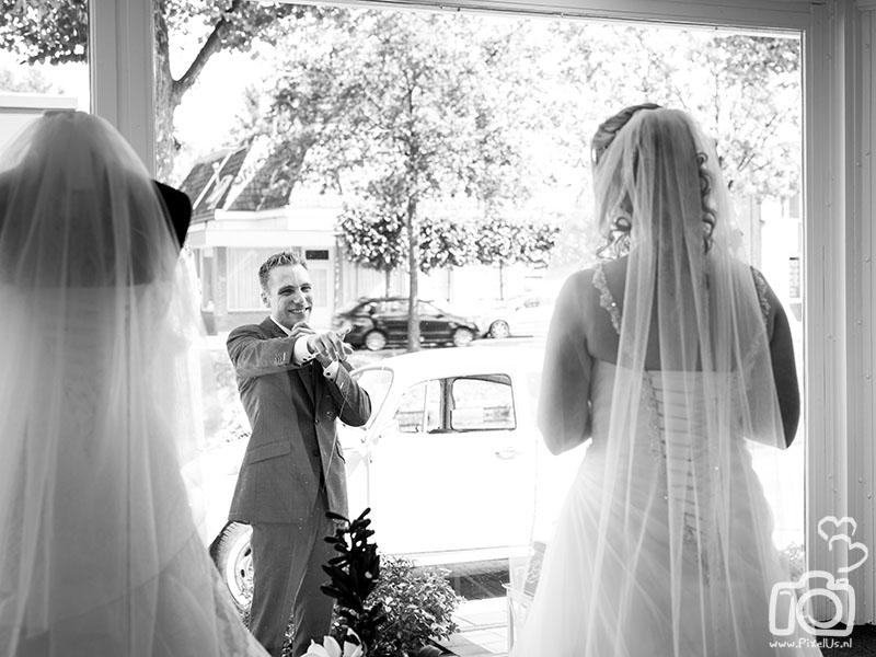 Bruidsmode Charina Stadskanaal trouwfotograaf